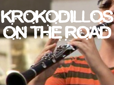 Krokodillos on the ROAD
