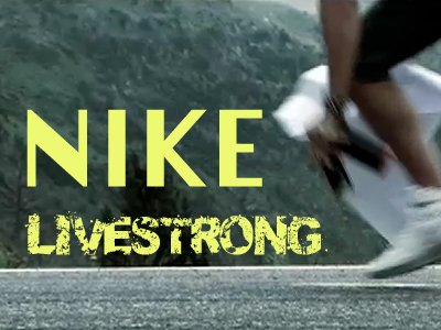 NIKE live strong